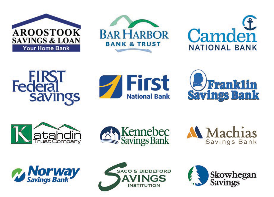 List of the Maine Cash Access Banks